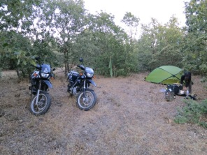 Camp for the night :)