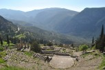 Theatre at the archaeological site of Delphi