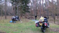 Camping in Southern Germany