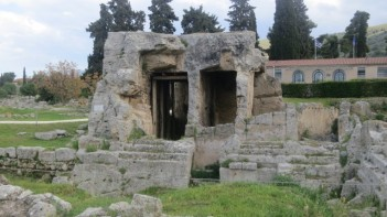 More archaeology - The ancient city of Korinth