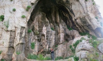 Caves of Zeus and Pan - Northern slope of the Acropolis