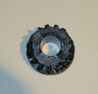 That pinion is completely shredded!