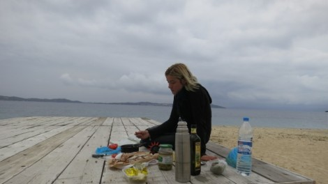 Lunch on the beach :)