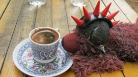 our first Turkish coffee