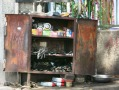 road side mechanic's - out of a cupboard garage