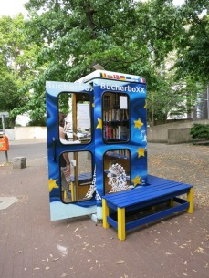 phone booth book exchange